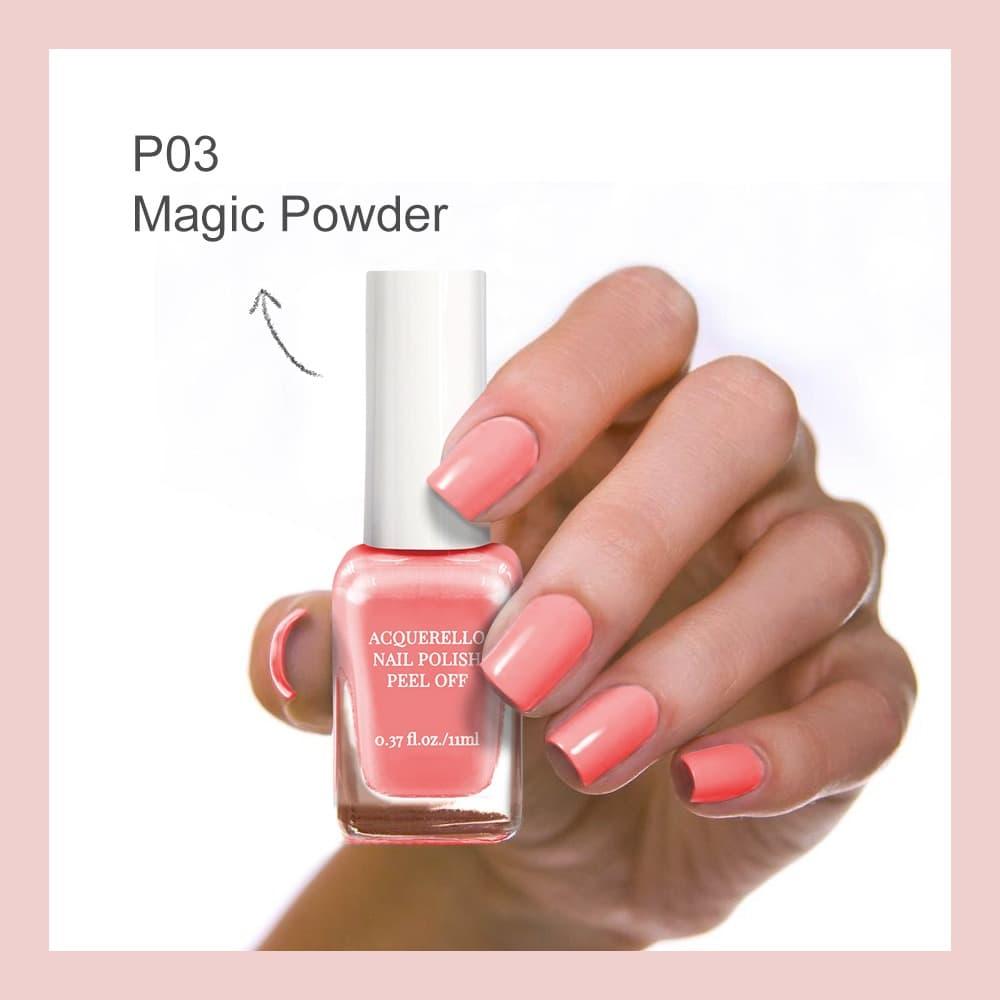 MINISO Kutek Cat Kuku Nail Polish Peel Off 11ml-pink thumbnail