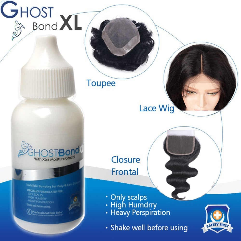 B279 ghostbond ghost bond lem toupee wig rambut palsu hair extension thumbnail