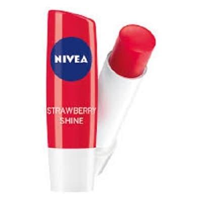 Nivea Caring Lipbalm Strawberry Shine - Lip Balm thumbnail