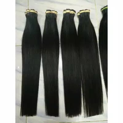 Rambut Extension 65cm Per Helai Asli 100% Potongan thumbnail