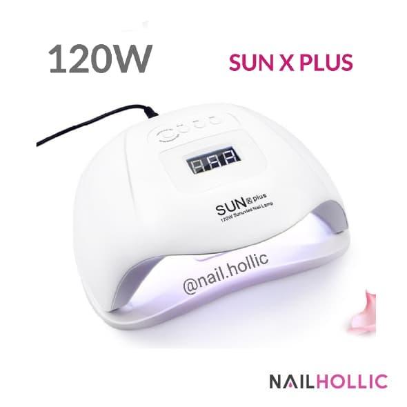 120W SUN X PLUS UV LED nail lamp. Lampu pengering kutek gel thumbnail