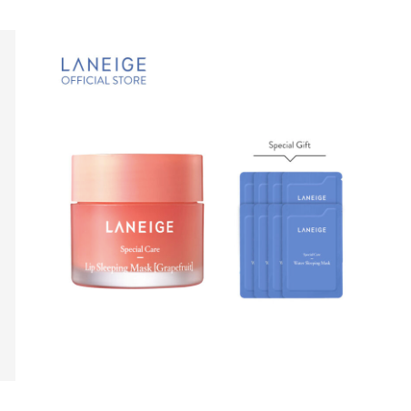 LANEIGE Lip Sleeping Mask Set - Grapefruit 21gr thumbnail