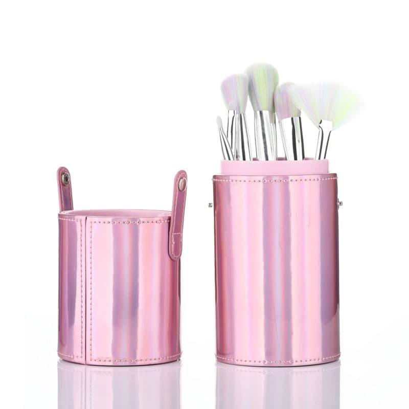 Sonia Miller SBS005-6C pink hologram w matching unicorn brush set thumbnail
