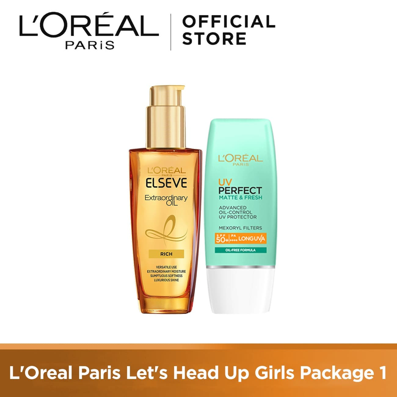 L Oreal Paris Let s Head Up Girls Package 1 thumbnail
