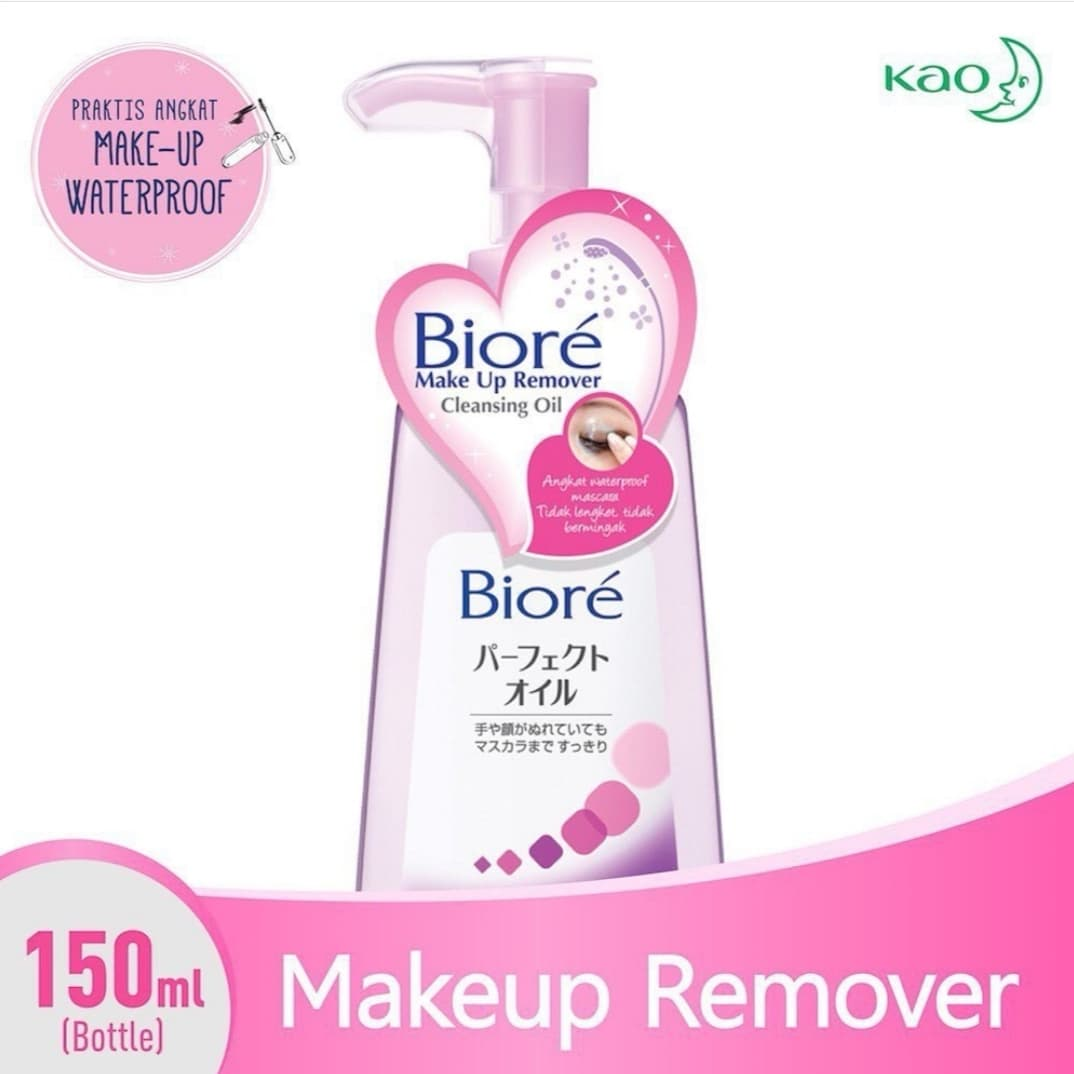 Biore Make Up Remover Cleansing Oil thumbnail