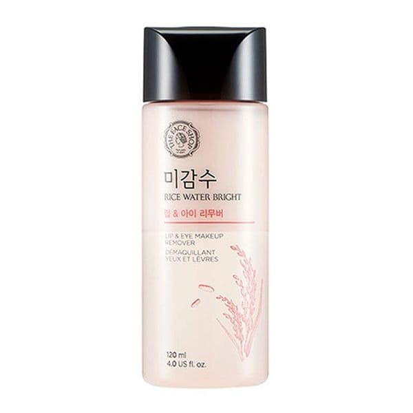 [The Face Shop] Rice Water Bright Lip And Eye Remover - 120ml-Original thumbnail