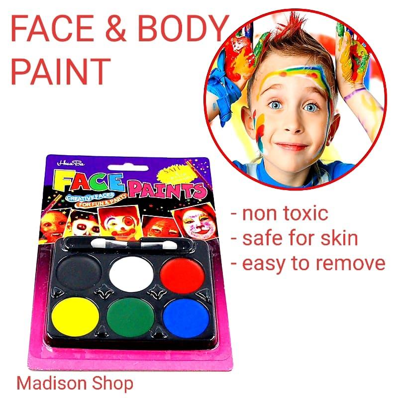 Face Painting Murah Cat Muka Badan Murah Body Paint Kostum Haloween thumbnail