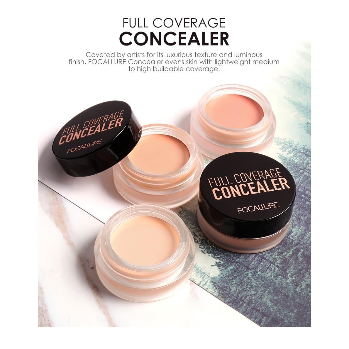 FOCALLURE 7 Colors Concealer Cream Base Lasting Oil Control FA58 - FA58-07 thumbnail
