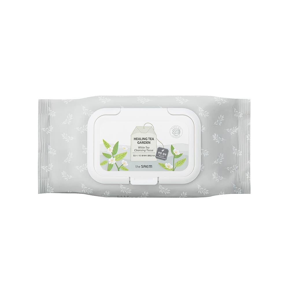 The Saem Healing Tea Garden white Tea Cleansing Tissue thumbnail