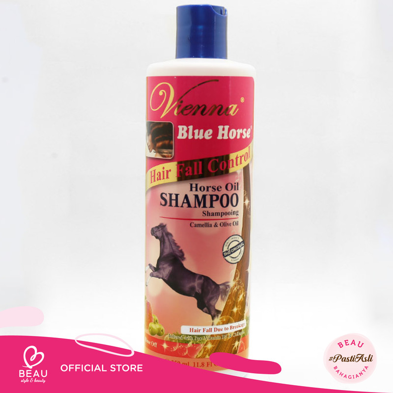 Vienna Shampoo Blue Horse Hair Fall 350Ml thumbnail