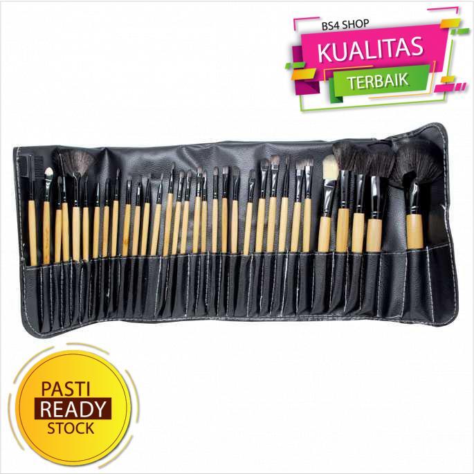 Brush Make Up 32 Set dengan Pouch - Alat Make Up Brush Set thumbnail