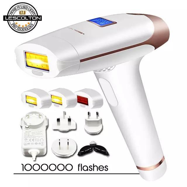 Lescolton t009i ipl hair removal rejuve acne laser ipl penghilang bulu thumbnail