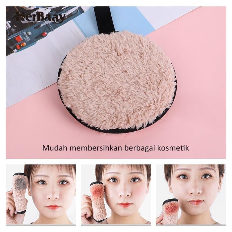 Herbaay Kapas Penghapus Makeup Remover Pad Reuseable - Putih 3