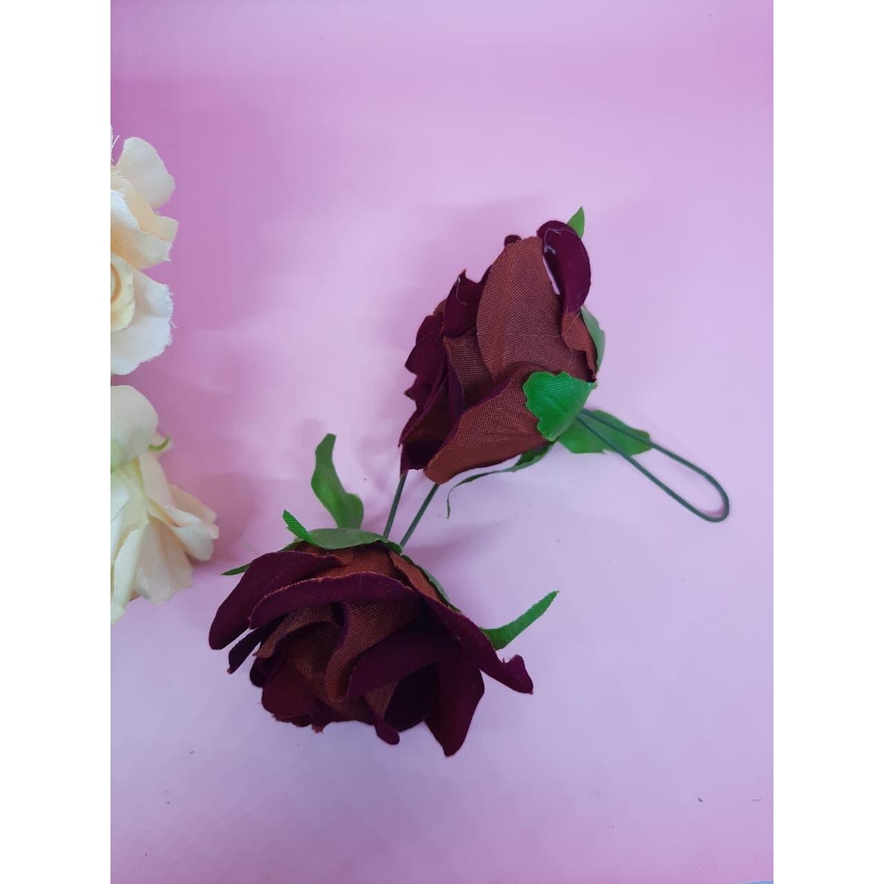 Tusuk bunga KR1 merah hairpin tusuk rambut hiasan accecories rambut thumbnail