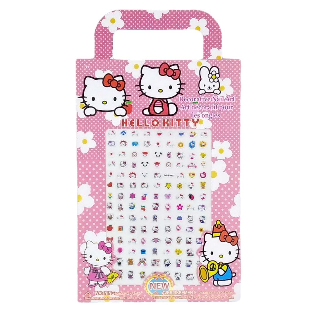 Stiker Kuku Anak Ukuran Besar Large Nail Art Sticker - Hello Kitty thumbnail