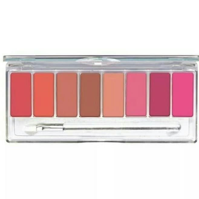 Wardah Lip Pallete [ Pinky Peach ] Lipstick Pallete Wardah Pinky thumbnail