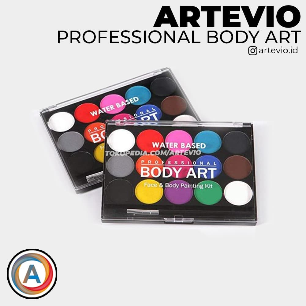 Body Art Painting Body and Face Painting Kit thumbnail