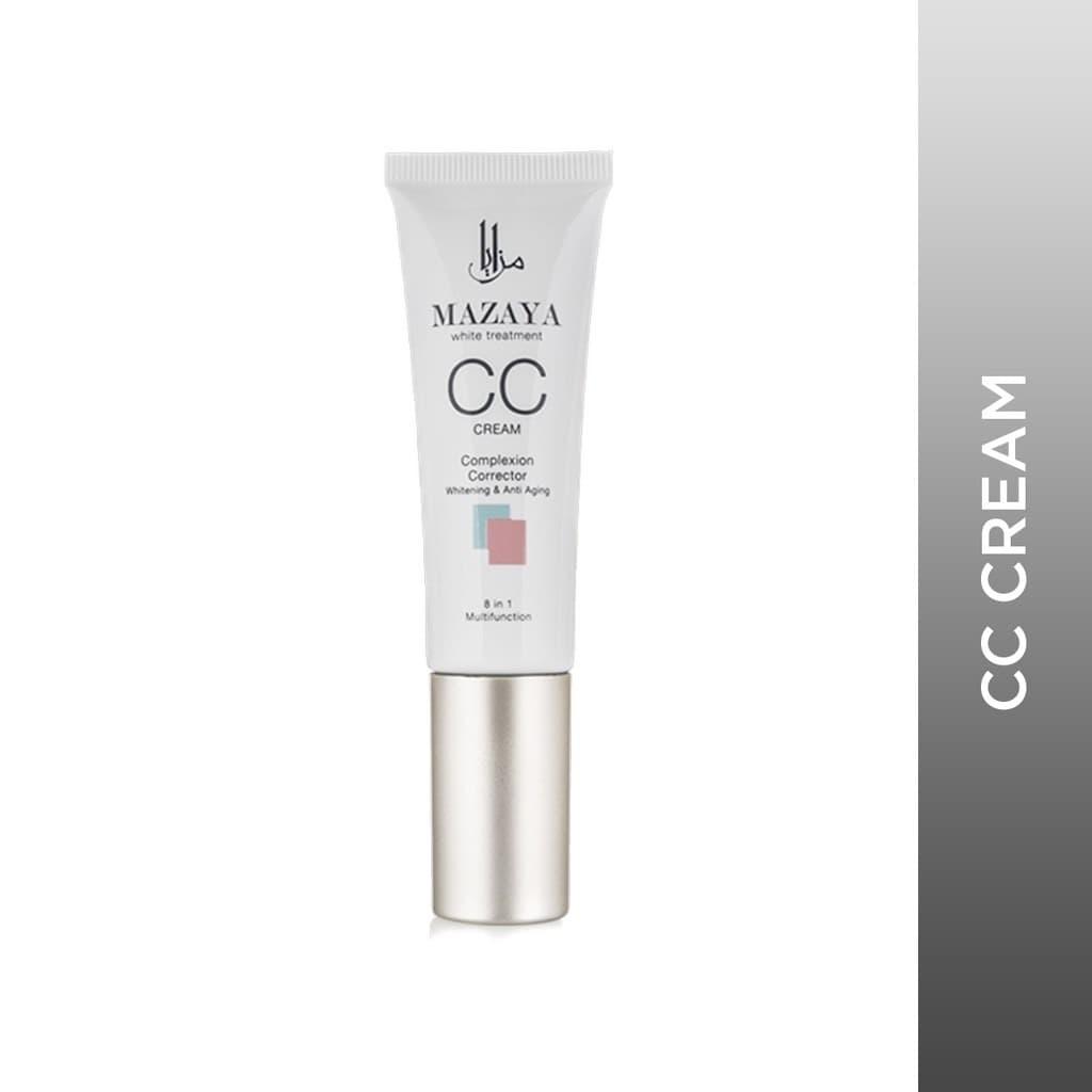 Mazaya CC Cream Complexion Corrector Whitening & Anti Aging 25gr - Soft Beige thumbnail