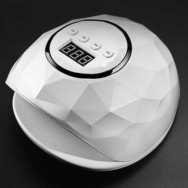 Pengering Kutek Kuku UV LED Nail Dryer 72W - LJ-F6-W - Putih thumbnail