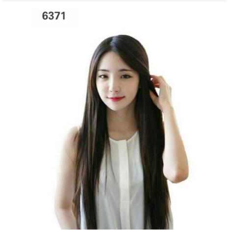 Rambut Wig - Wig Wanita Model Lurus Panjang Belah Tengah thumbnail
