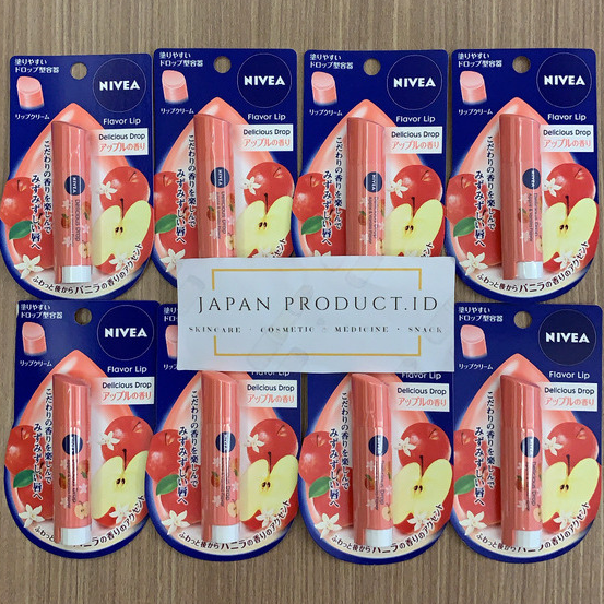 Nivea lipbalm delicious drop Japan - Peach thumbnail