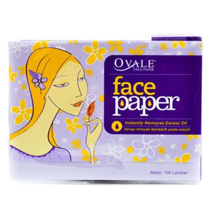 Ovale Face Paper Isi 100 Lembar thumbnail