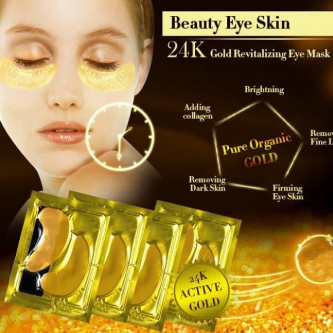 masker mata crystal collagen gold eye bag mask eye mask thumbnail