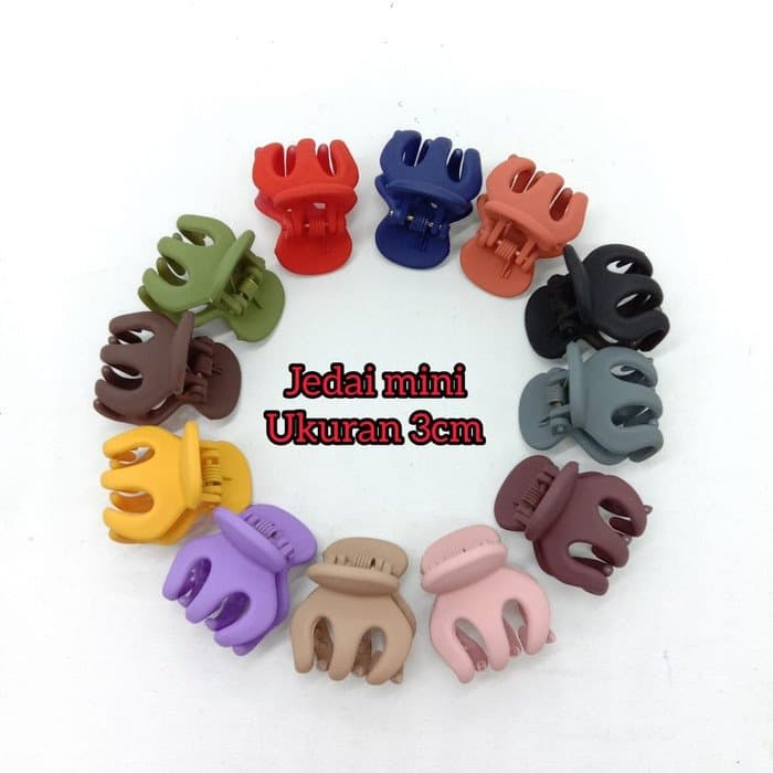 JEDAI MINI 3CM DOFF GROSIRAN - 1 BOX ISI 36PCS - JDM01 thumbnail