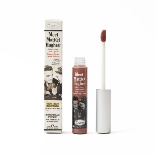 theBalm Meet Matte Hughes Long Lasting Liquid Lipstick - Committed thumbnail