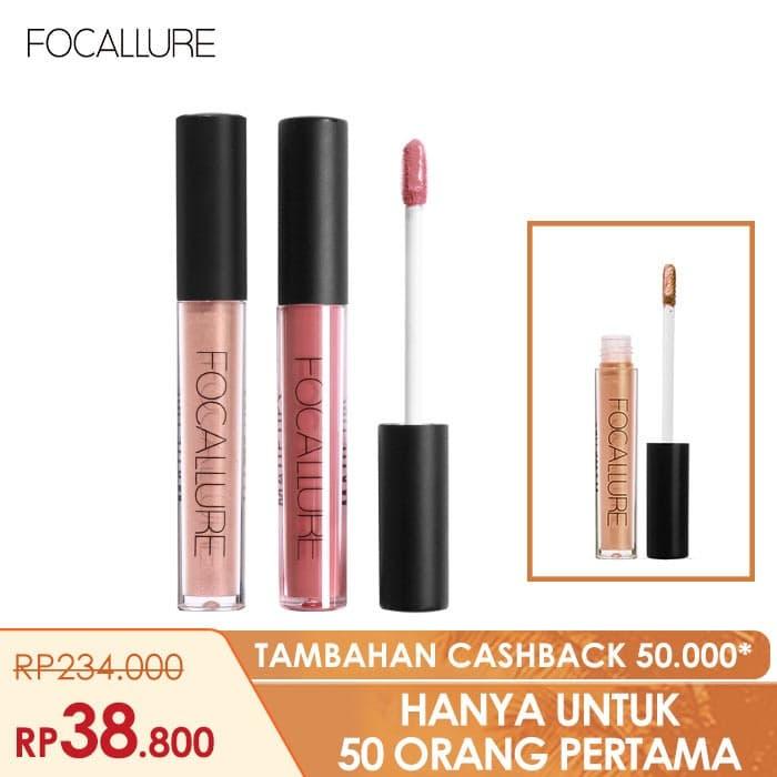 FOCALLURE Bundle 3pcs Best Selling Lipstik Matte Glitter FA24 - Bundle 1 1