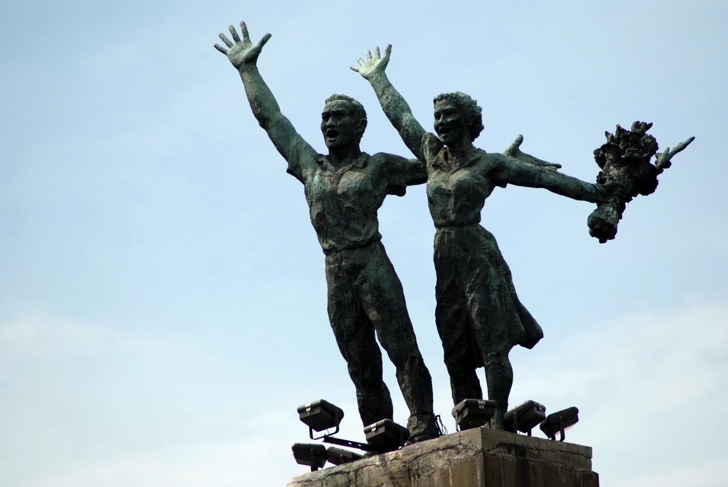 Patung  Bersejarah Indonesia  Patung  Selamat  Datang