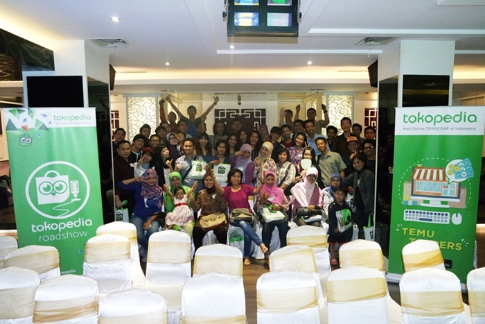 Tokopedia Roadshow #7: Meriahnya Rangkaian Acara Kunjungan Tim Tokopedia ke Surabaya