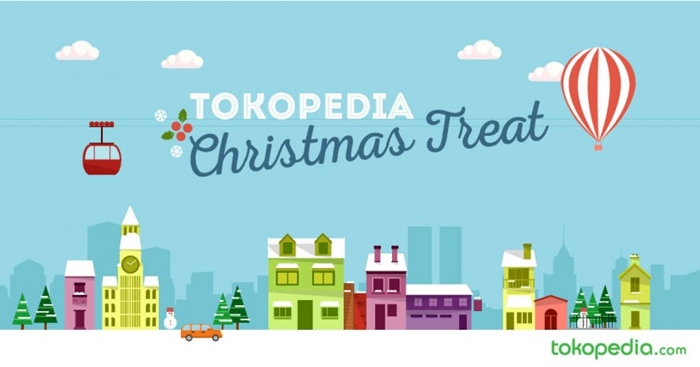 Tokopedia Christmas Treat: Kado Natal untuk Eben