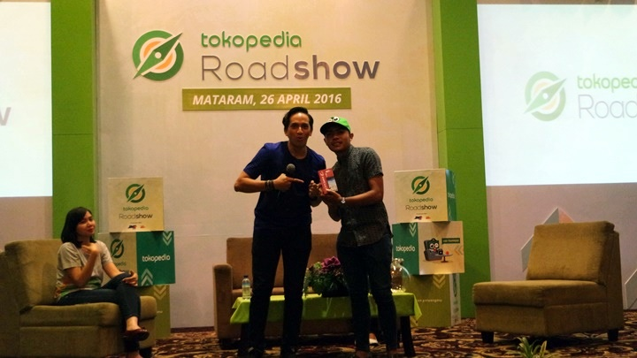 tokopedia roadshow mataram 2016