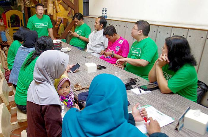 sambutan dan arahan dari ketua kelas TopCommunity Malang