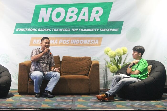 acara nobar top community tangerang