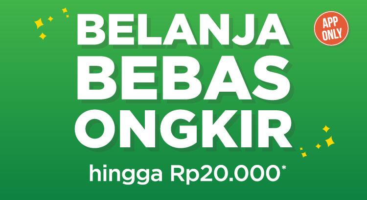 Gratis Ongkir Rp 20.000 Tokopedia dengan Kode 'PAKAIAPP