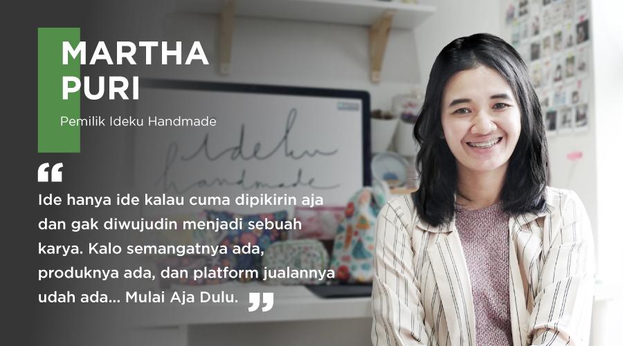 Seller Story Tokopedia – Mudahnya Jalani Hobi Ilustrasi Jadi Bisnis Art & Craft | Ideku Handmade