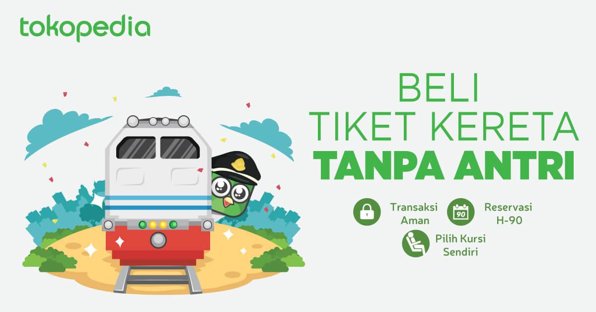 Jadwal Tiket Kereta Api Jakarta Yogyakarta Tokopedia